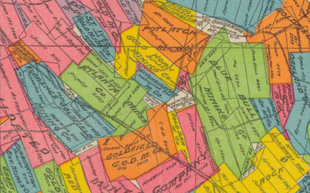 Detail from the Goldfiled map from the Mary B. Ansari Map Library at the University of Nevada, Reno.