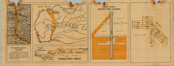 Woodside-Eureka Mining Co. (ca. 1900) from the Mary B. Ansari Map Library at the University of Nevada, Reno.